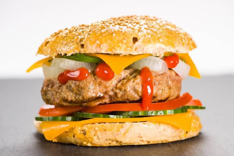 cheseburger hamburger ricetta originale GnamAm