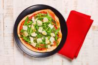pizza di farina integrale schinken in garten ricetta gnamam.com