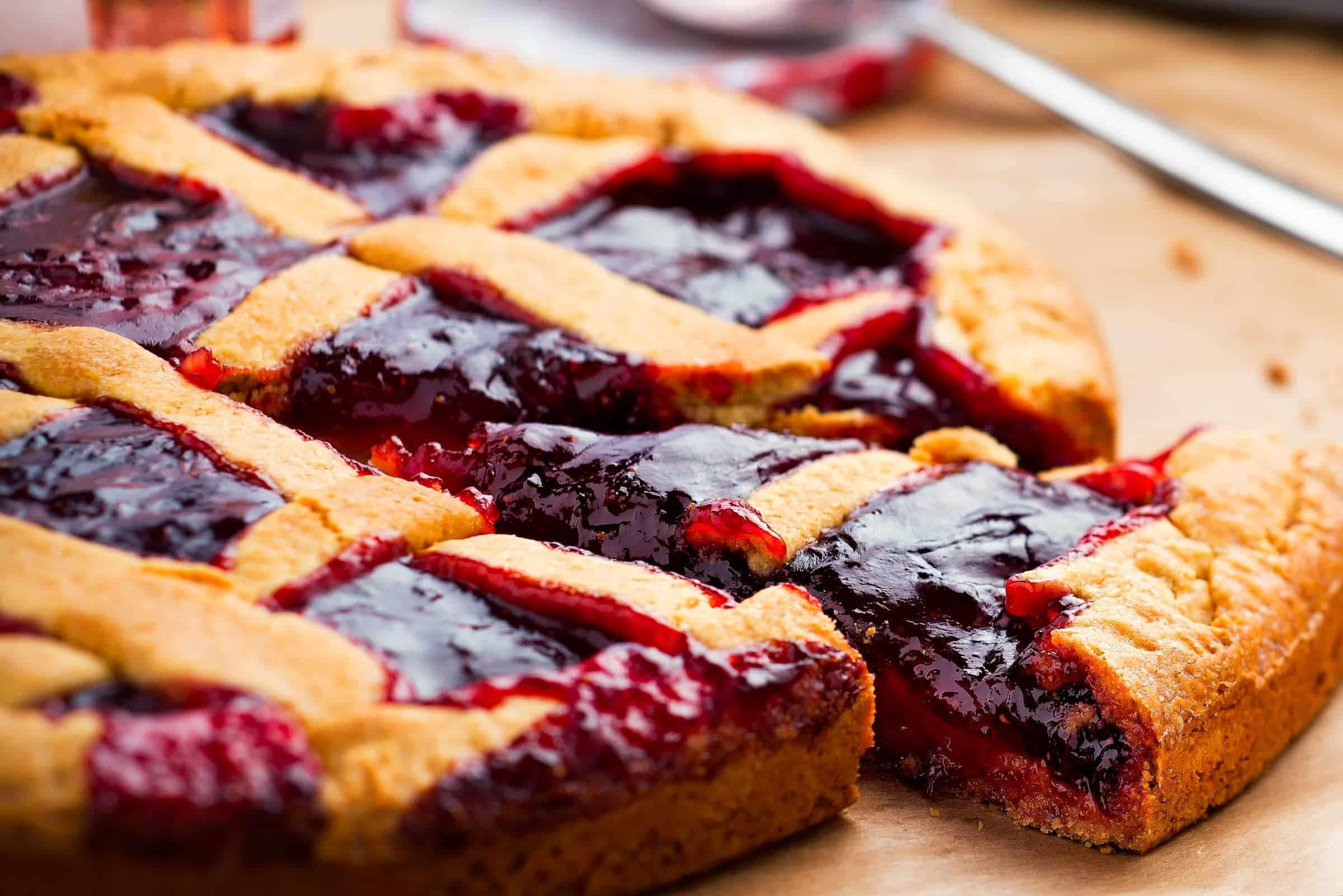 Crostata alla marmellata ricetta gnamam.com