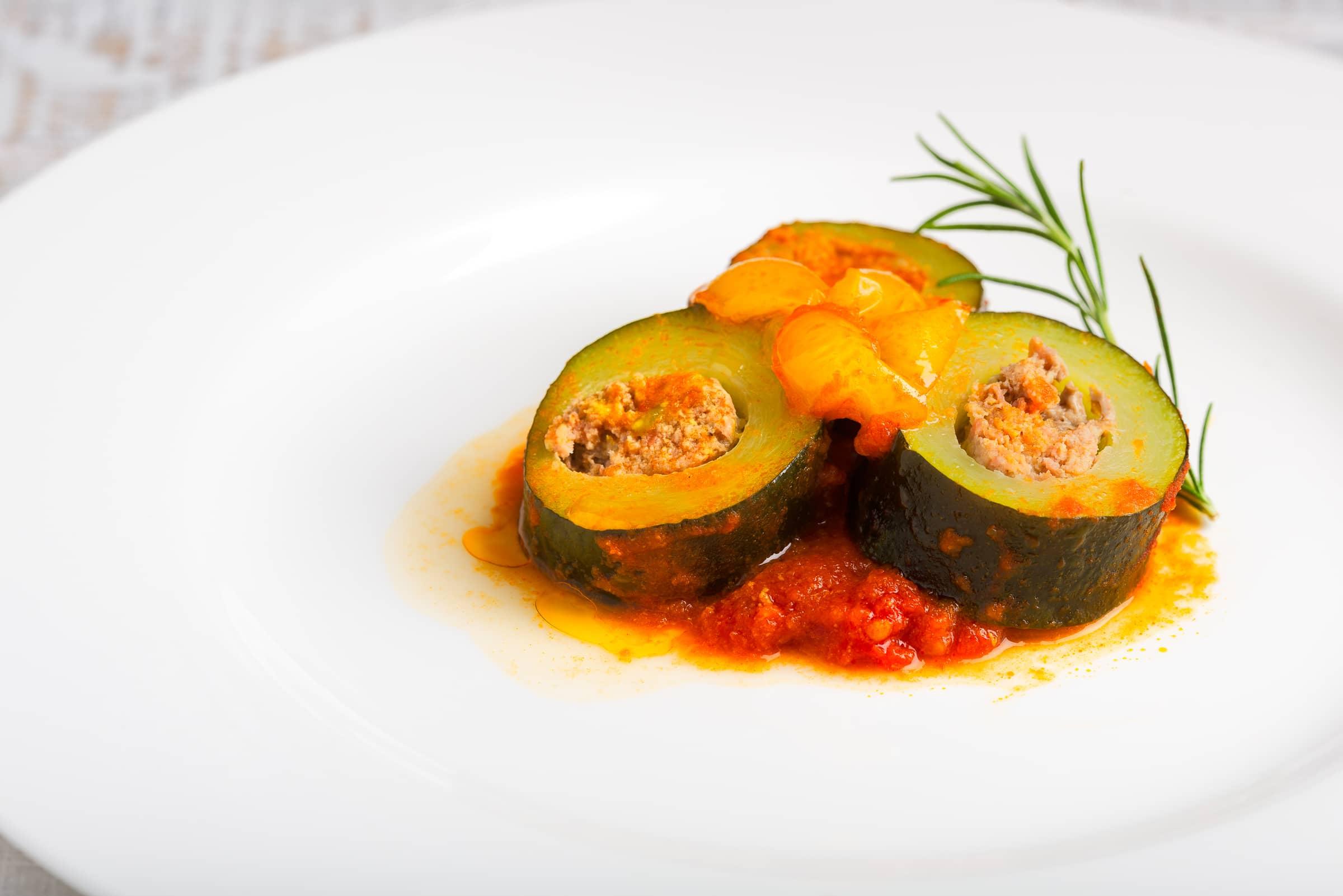 Zucchine ripiene di carne ricetta gmamam.com