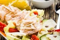 Caesar Salad o insalata di pollo Cover ricetta GnamAm.com