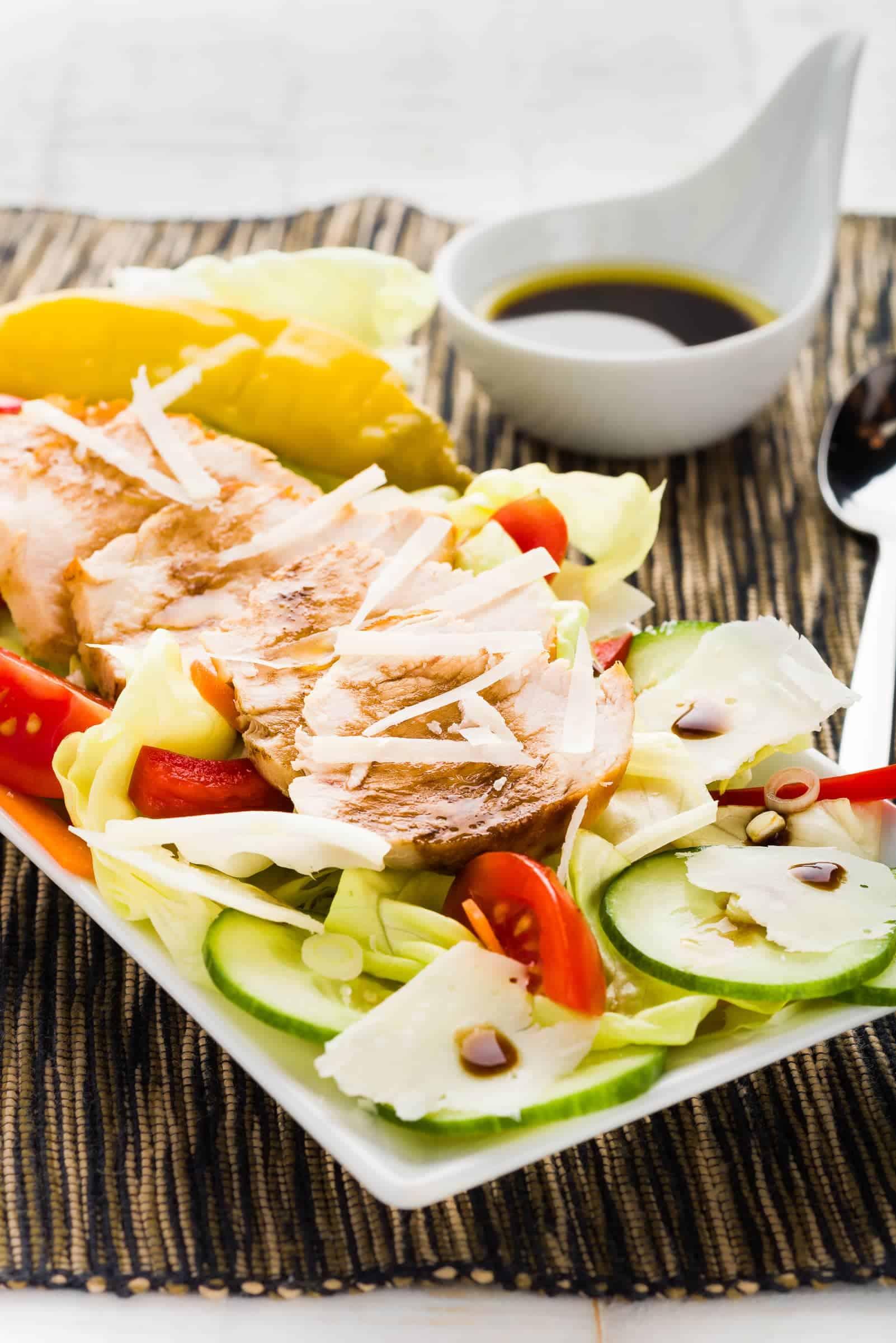 Caesar Salad o Insalata di pollo Hero ricetta GnamAm.com
