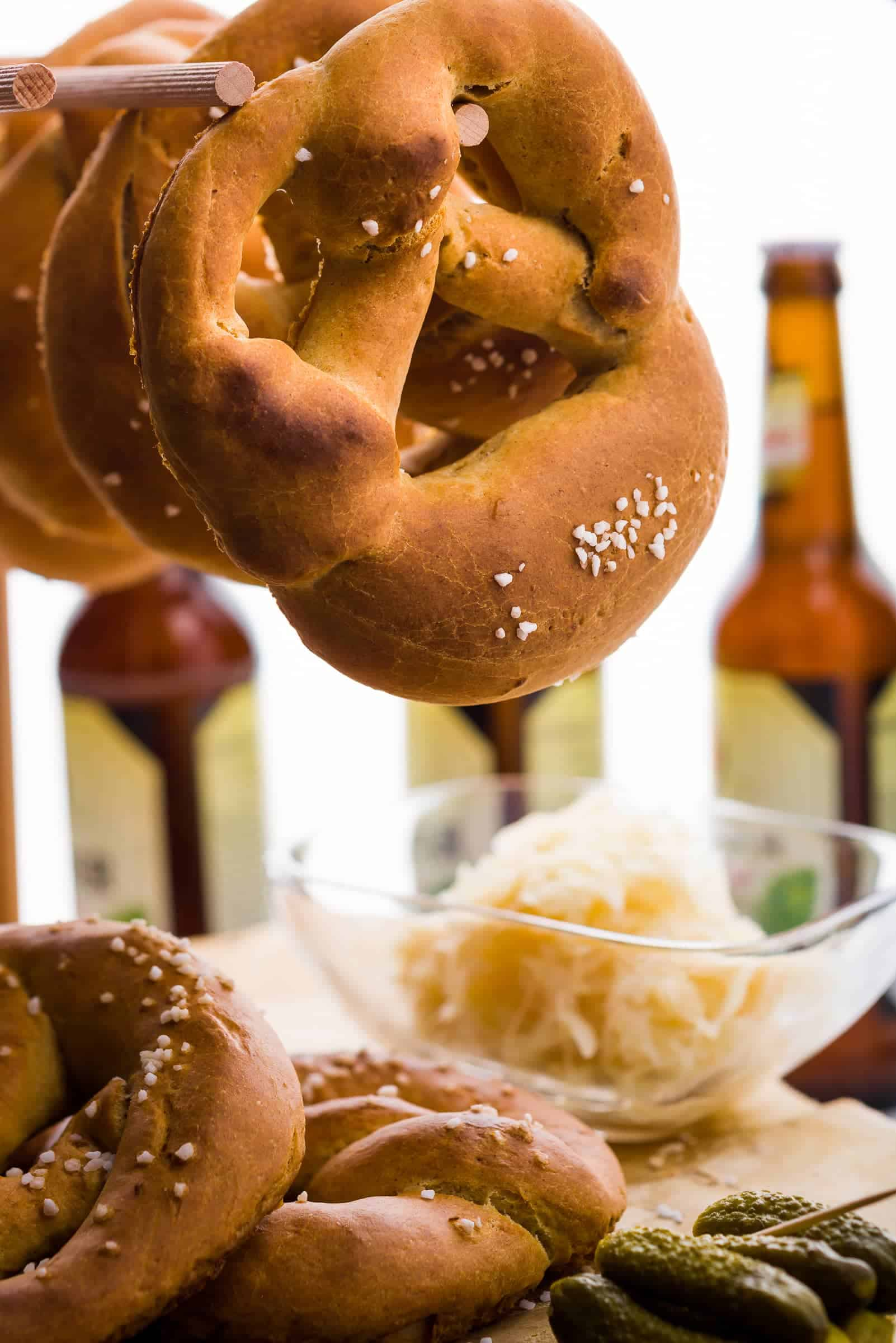 Bretzel pretzel ricetta Hero GnamAm.com