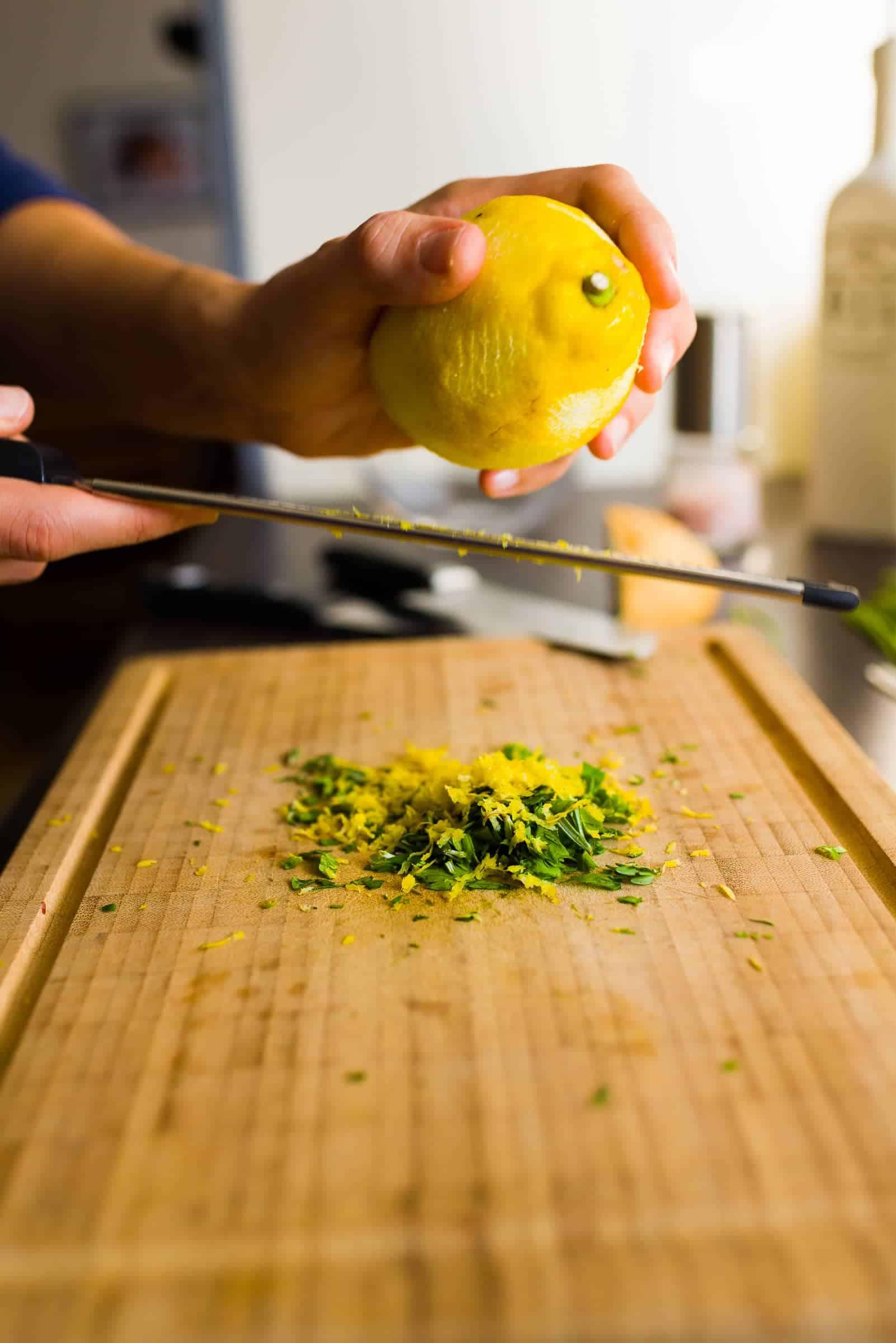 Filetto di salmone al forno con molliche di pane croccanti Prep3 Gnamam.com
