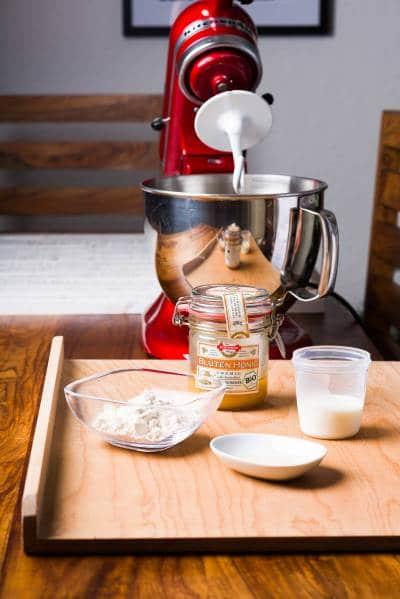 Panettone classico ricetta Gnamam.com giorno1 prep01