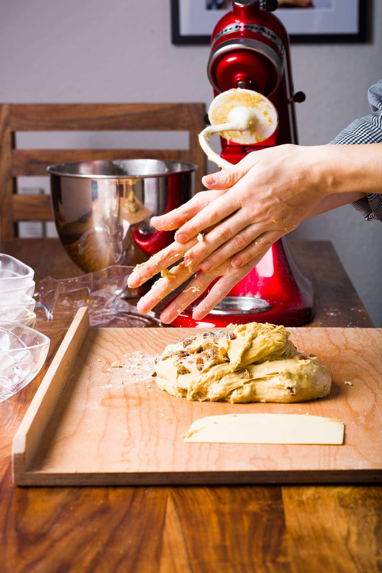 Panettone classico ricetta Gnamam.com giorno3 prep09