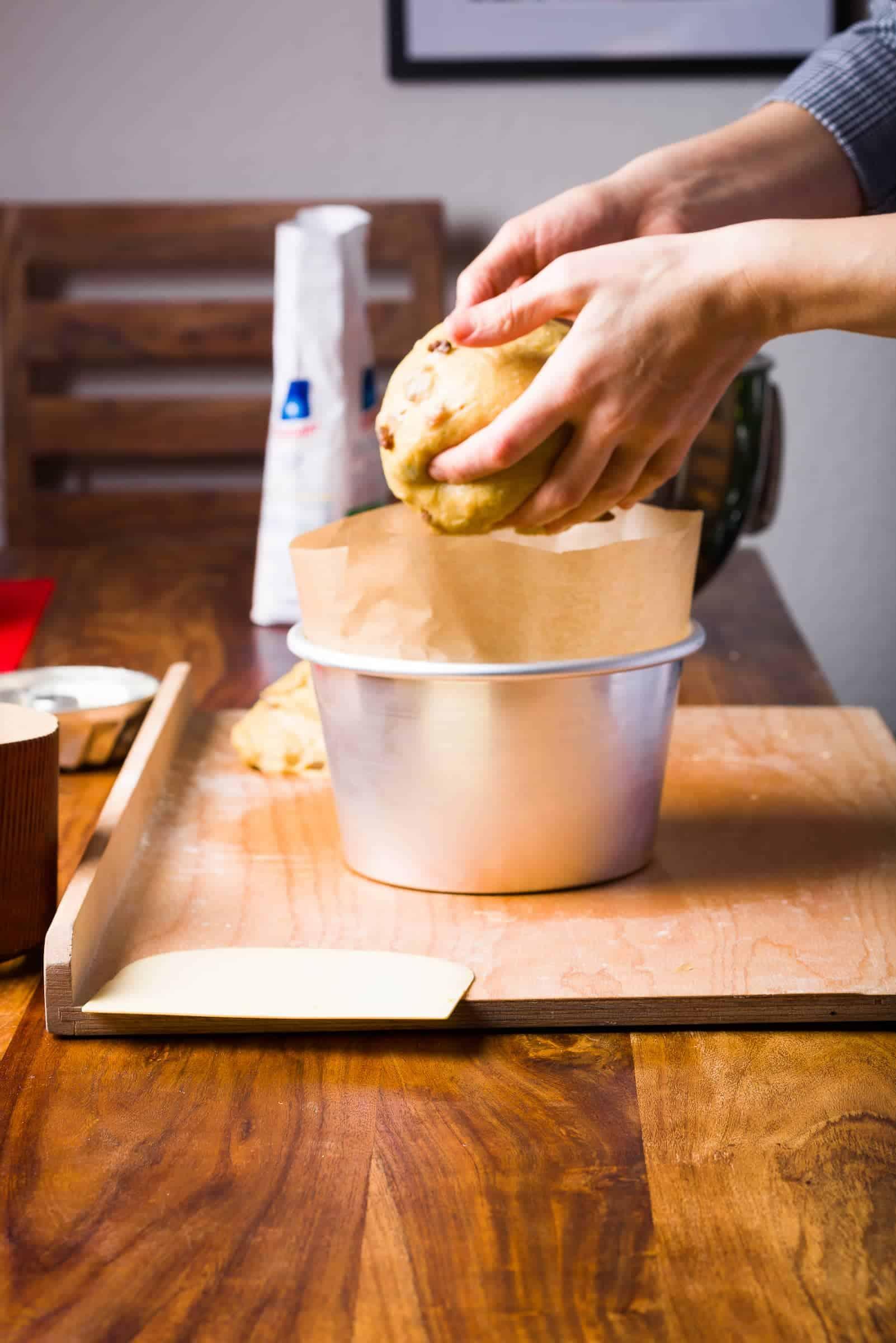 Panettone classico ricetta Gnamam.com giorno3 prep15