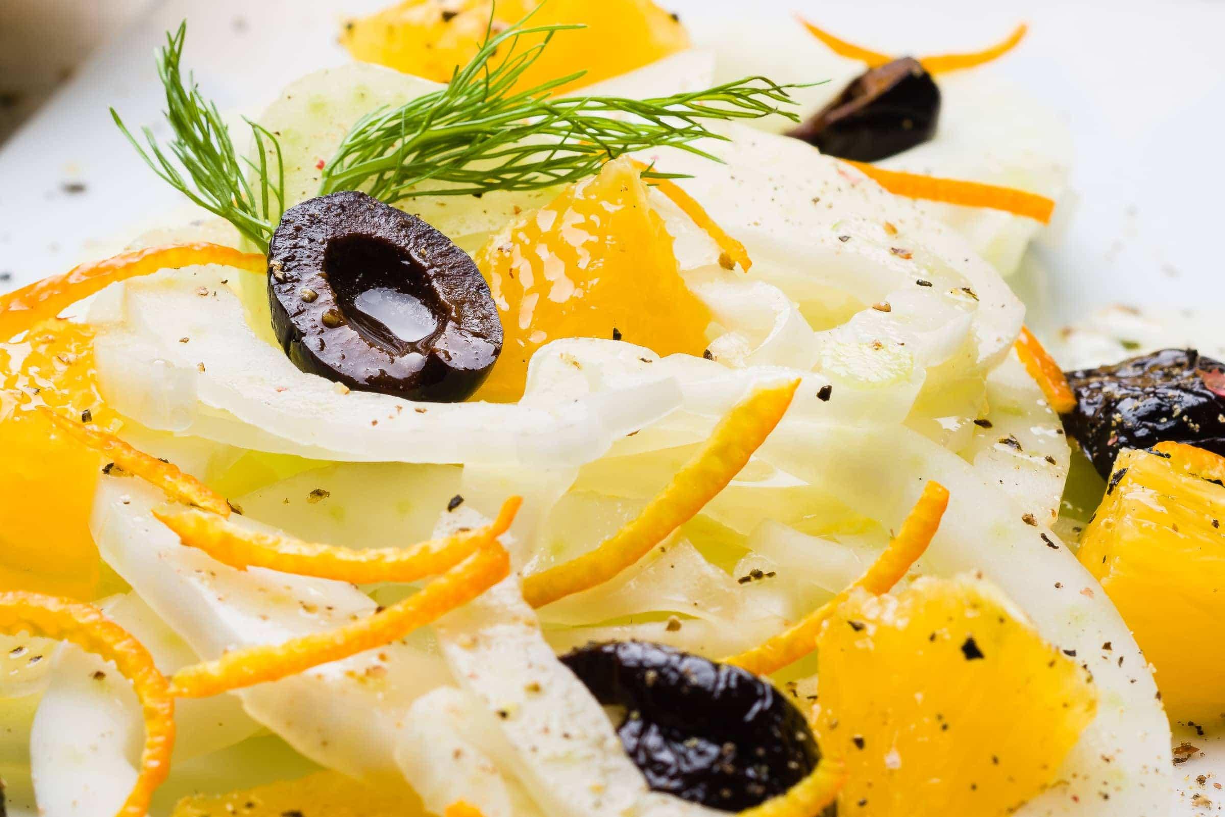 Insalata di finocchi arance olive nere cover