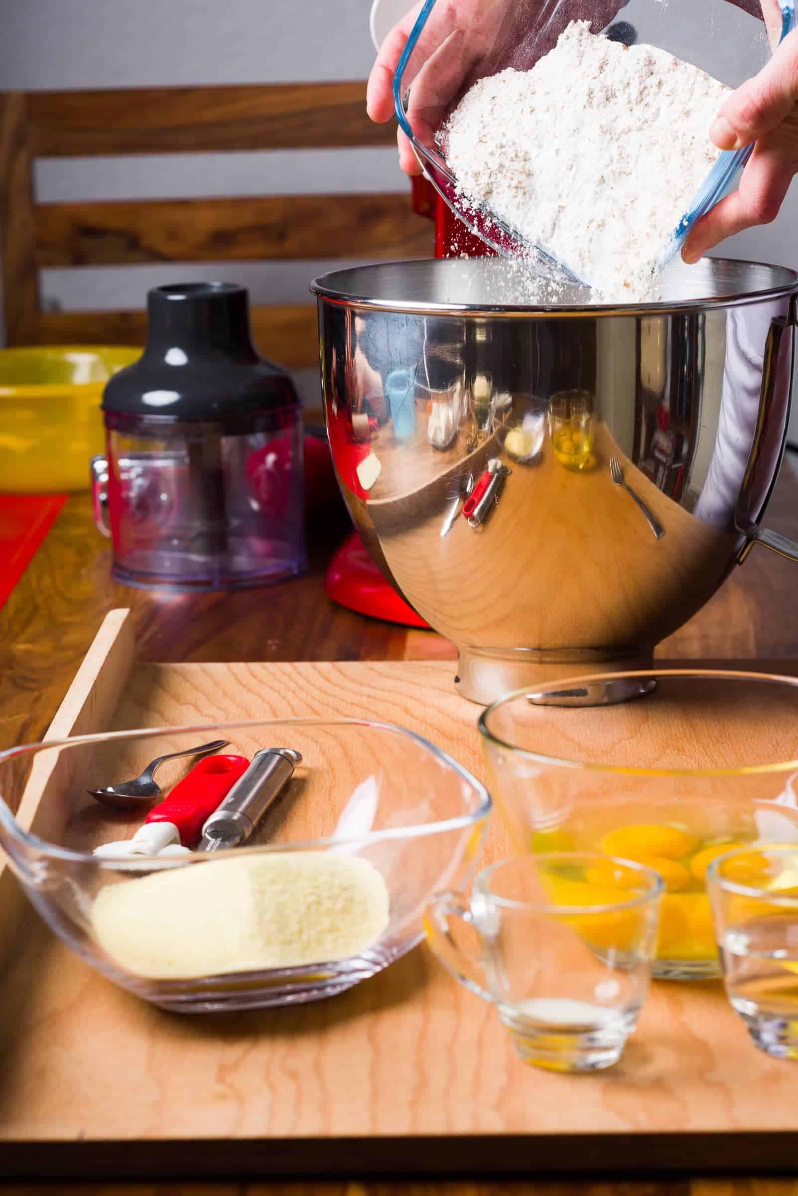 Ravioli con ricotta e spinaci ricetta GnamAm.com preparazione 1
