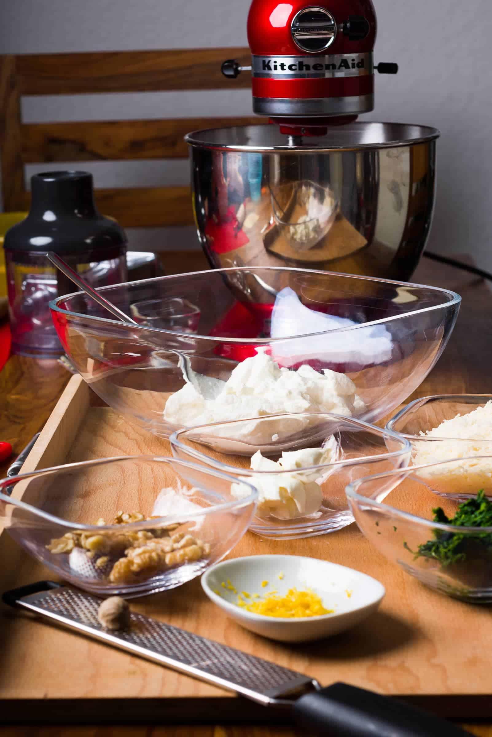 Ravioli con ricotta e spinaci ricetta GnamAm.com preparazione 3