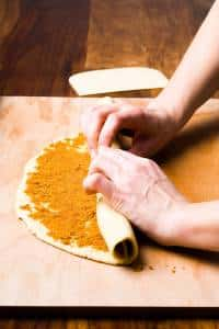 Arancini Marchigiani di carnevale ricetta GmamAm.com prep12