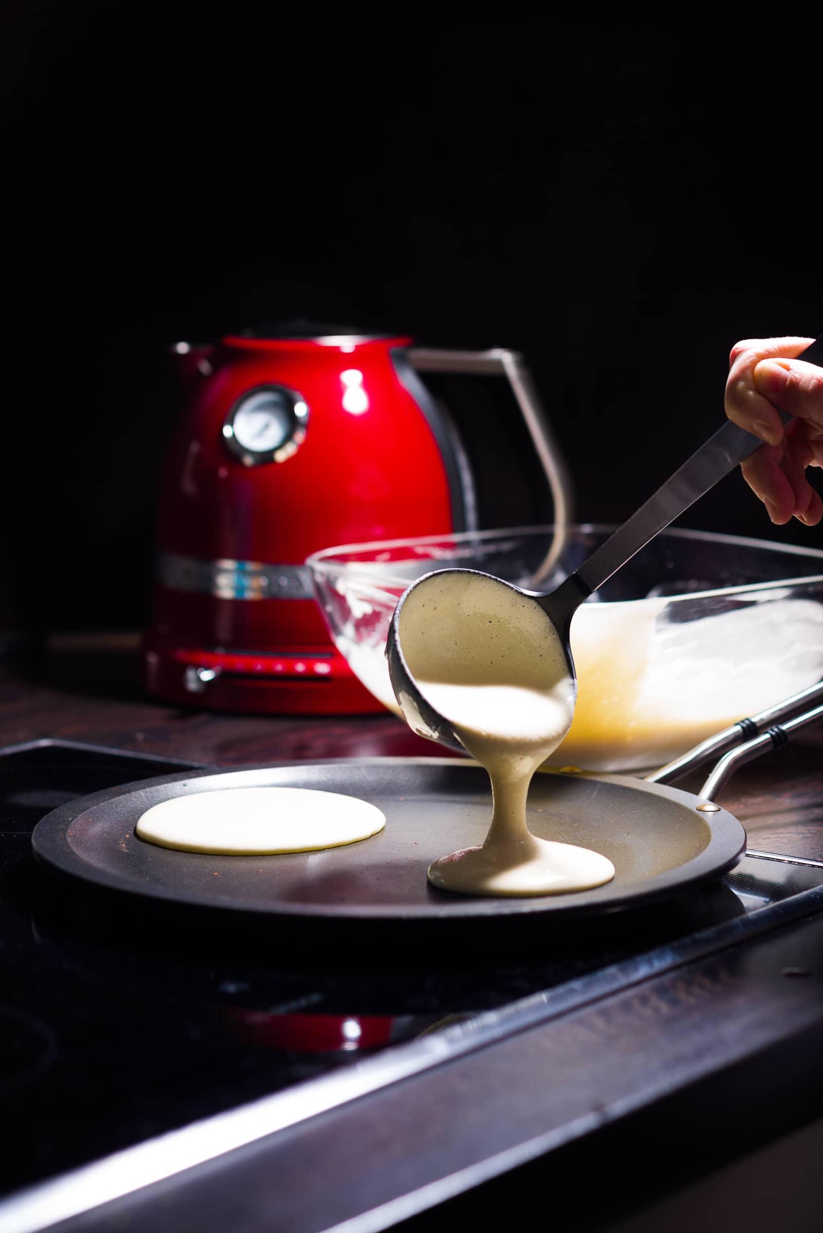 Pancakes ricetta prep.05 GnamAm
