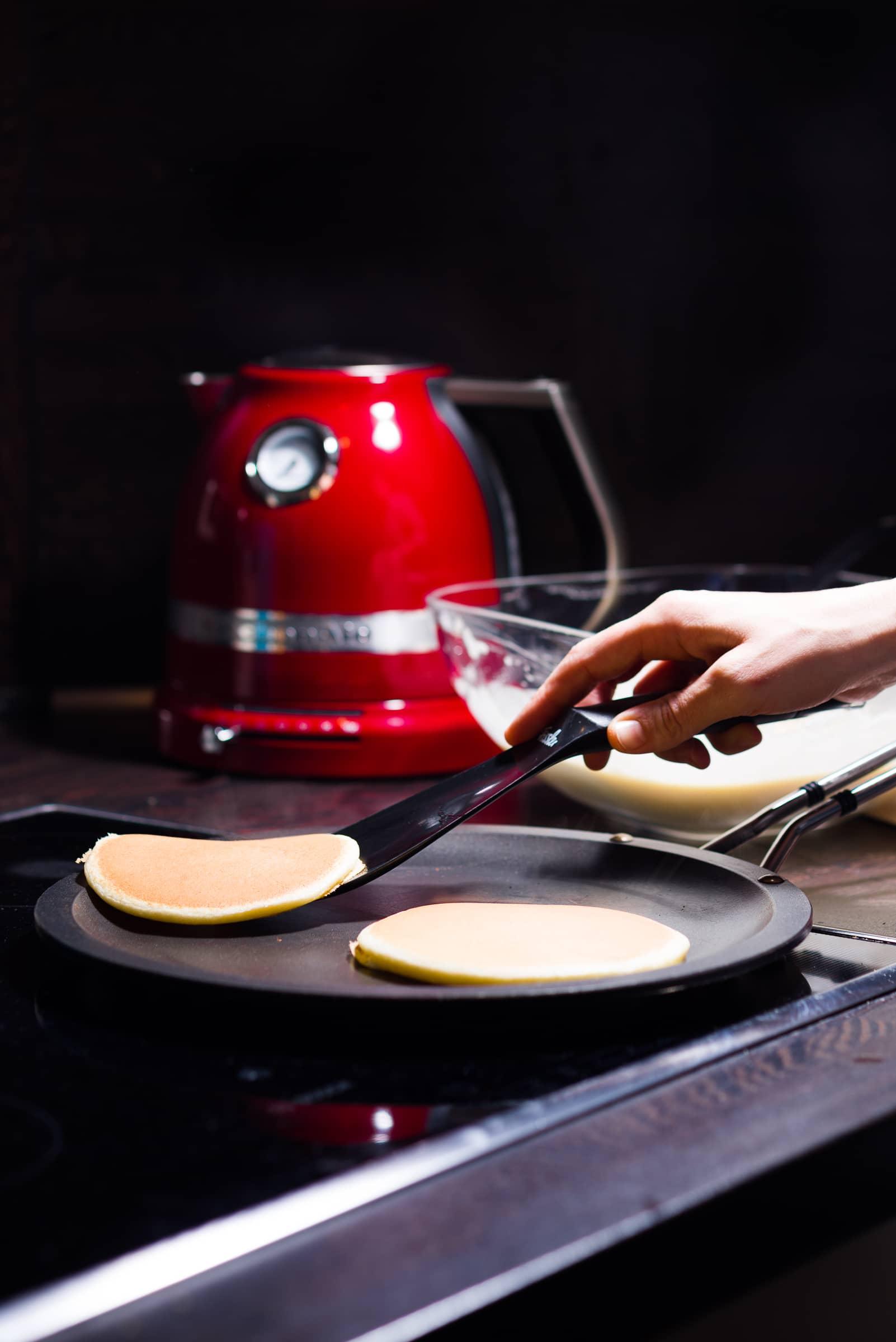 Pancakes ricetta prep.06 GnamAm