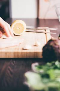 Carciofi in padella ricetta prep.03 GnamAm