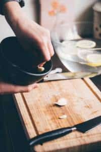 Carciofi in padella ricetta prep.04 GnamAm