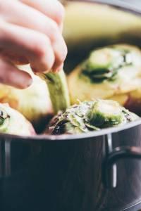 Carciofi in padella ricetta prep.22 GnamAm