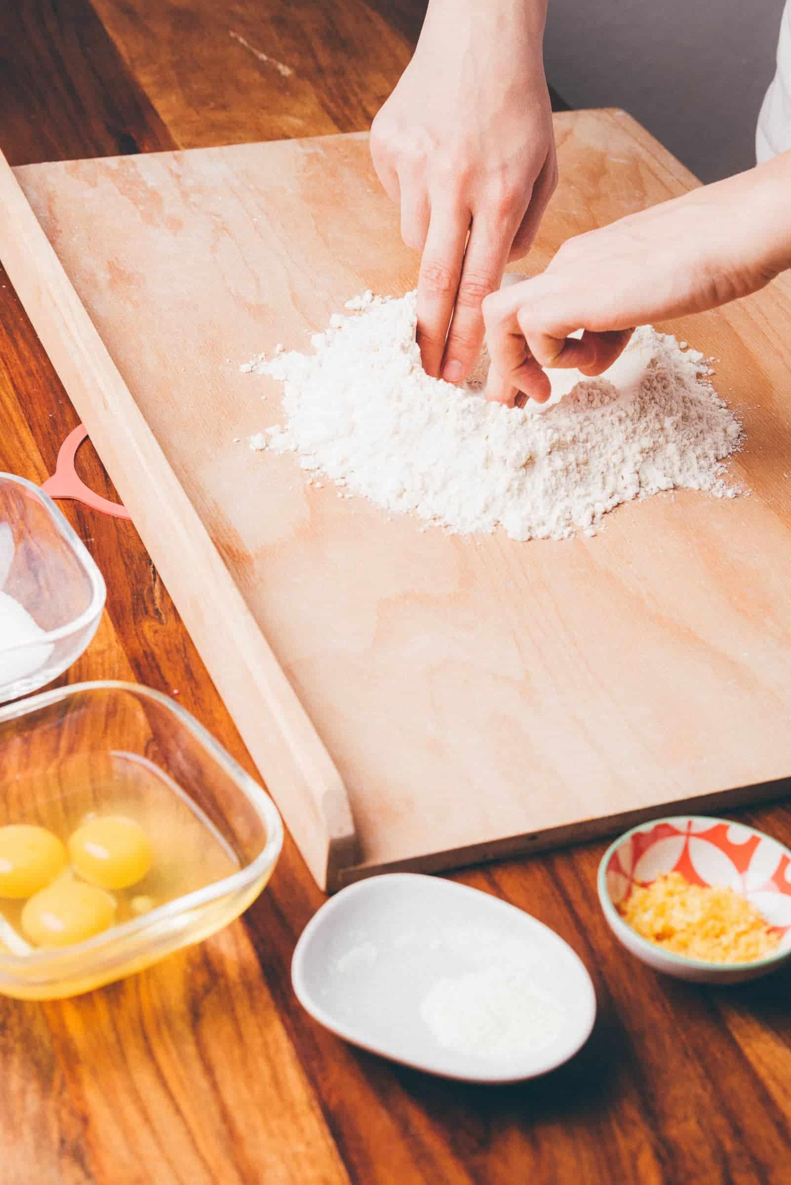 Ciambella di Pasqua marchigiana ricetta prep. 03 GnamAm