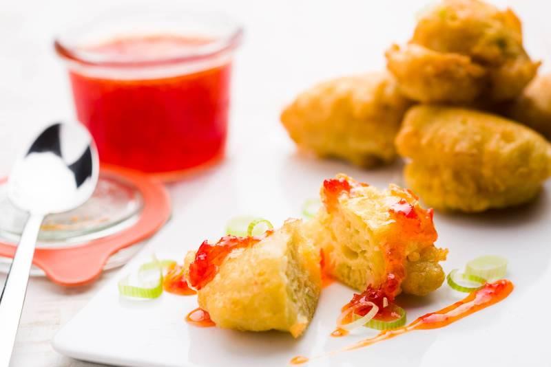 Frittelle di cipolla e farina di ceci ricetta GnamAm.com Hero