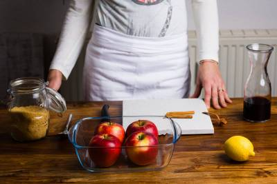 Ricetta Mele cotte al forno GnamAm.com Preparazione 1