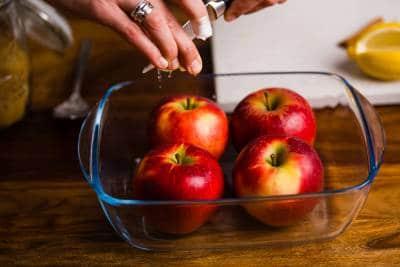 Ricetta Mele cotte al forno GnamAm.com Preparazione 2