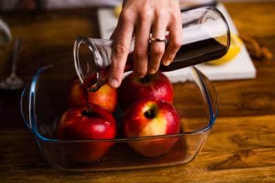 Ricetta Mele cotte al forno GnamAm.com Preparazione 3
