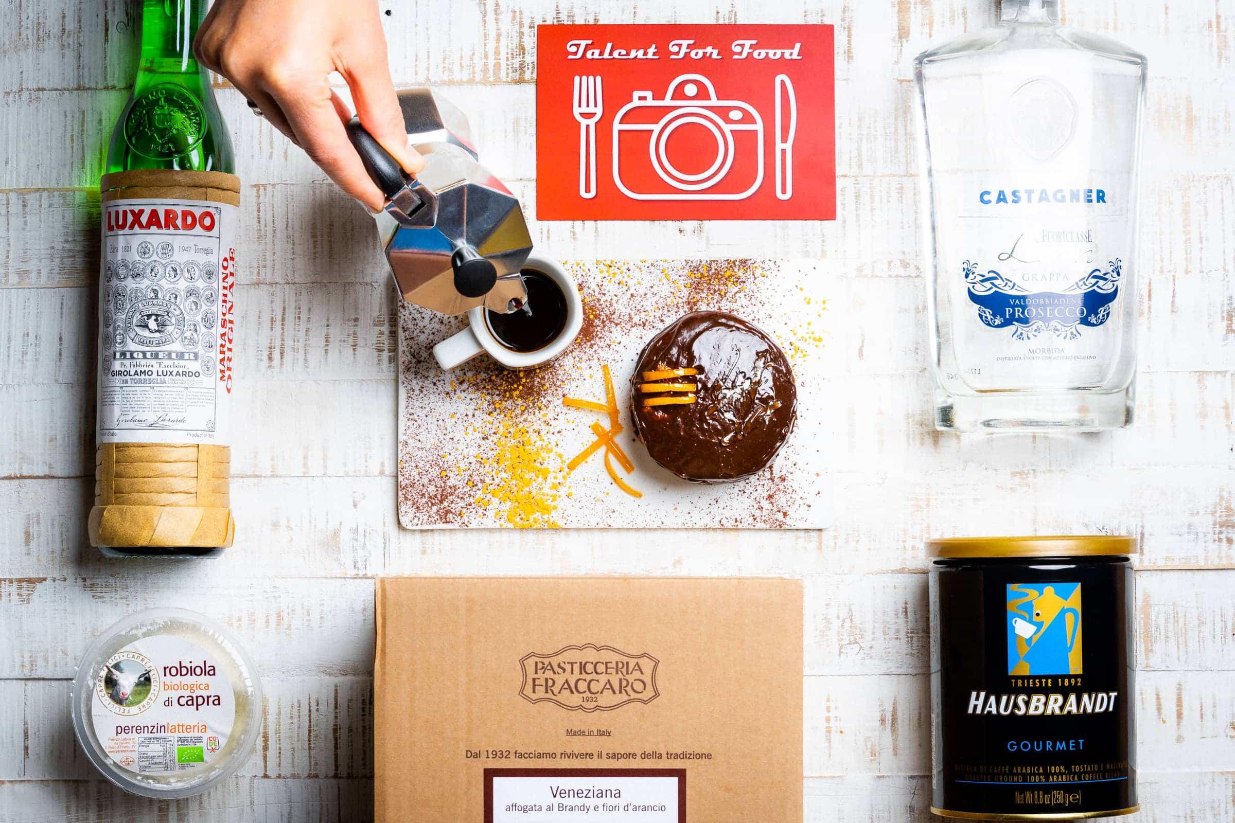 Talent for food - Mattonella soffice con caffe dell'alpino - Ingredienti - GnamAm.com