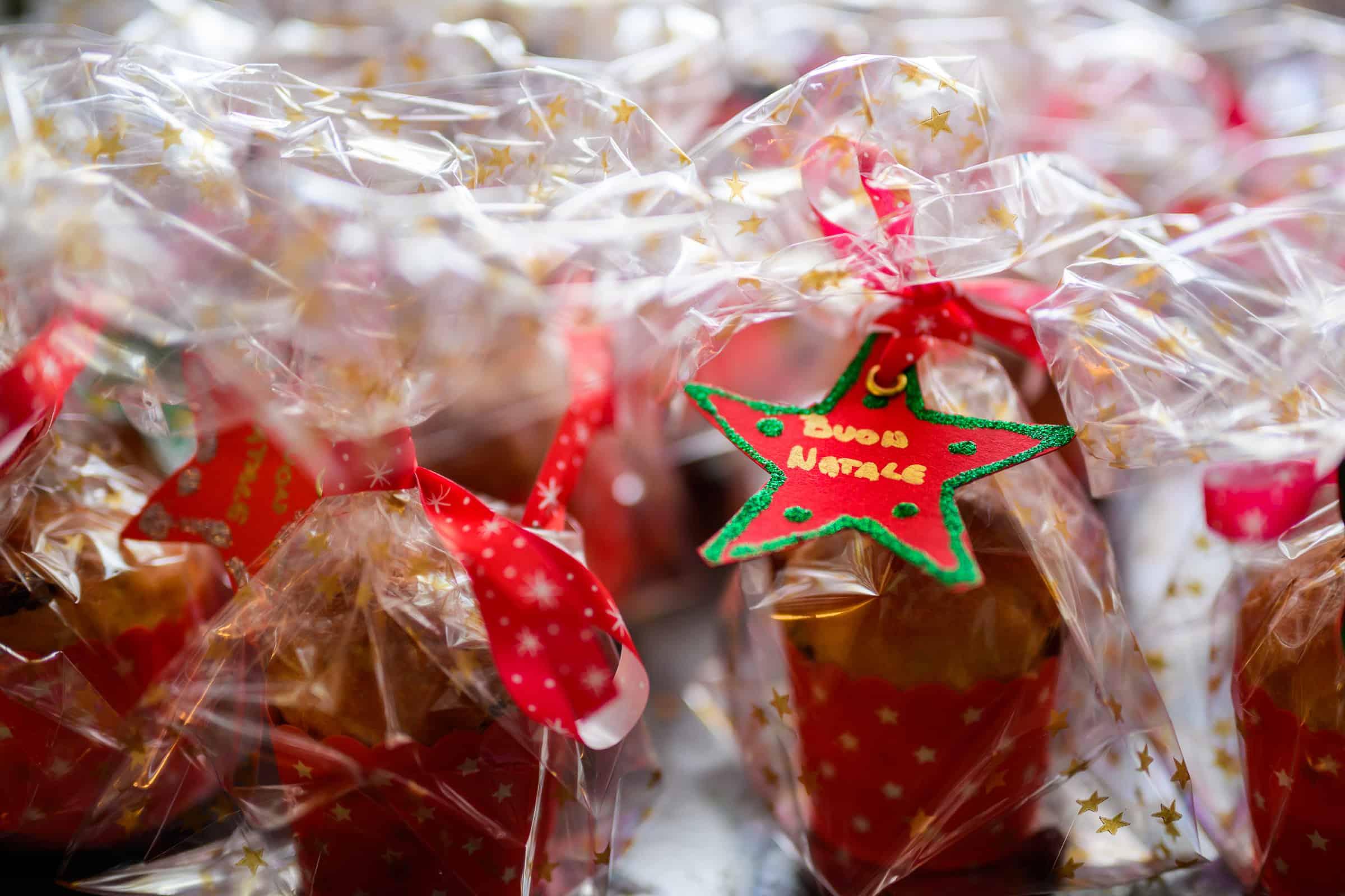 Ricetta Mini Panettoni regalo Buon Natale GnamAm.com