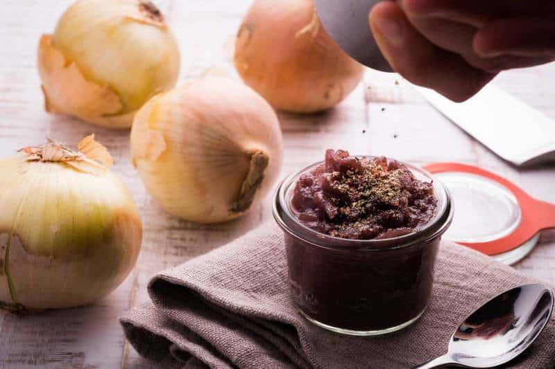 Ricetta Salsa alle cipolle brasate GnamAm.com Hero
