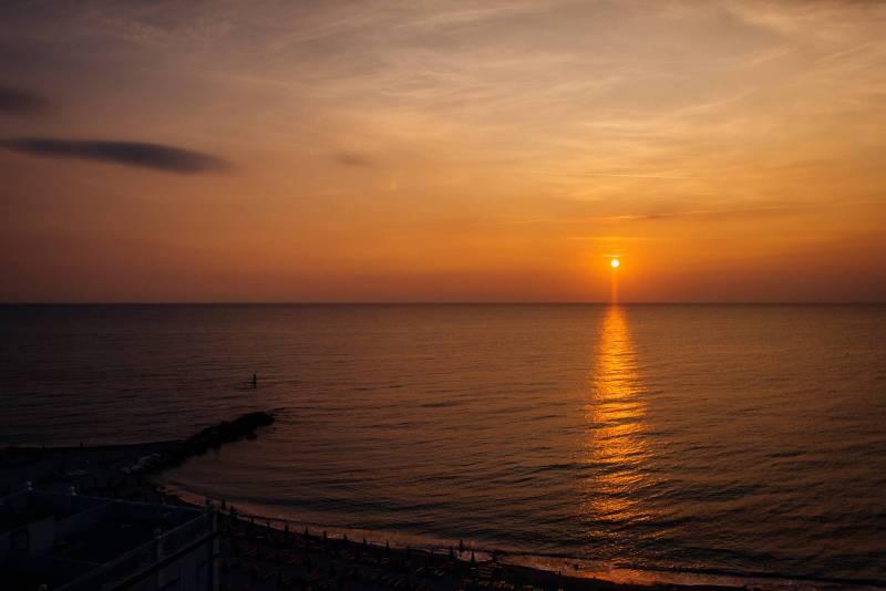 Le Marche Italia - Il mare Adriatico